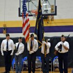 Ceremony of military honor guard