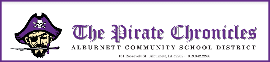 The Pirate Chronicles - Alburnett Newsletter Graphic