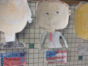 Elementary school president drawings